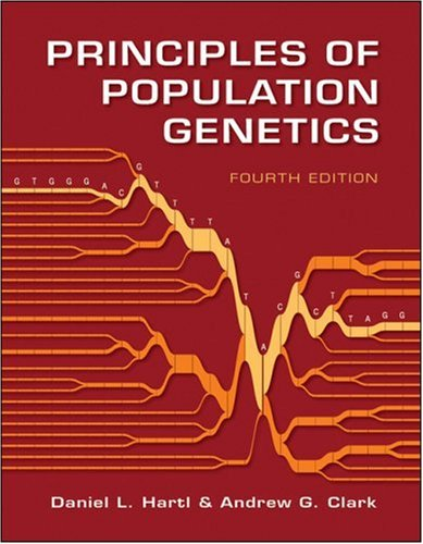Principles of Population Genetics  4th 2007 (Revised) edition cover