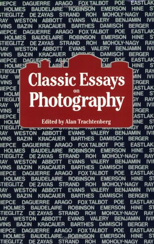 Classic Essays on Photography   1980 edition cover
