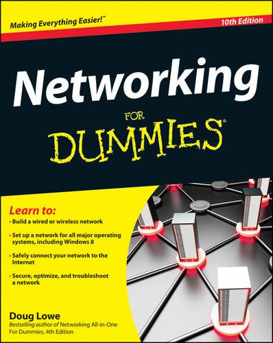 Networking for Dummies�  10th 2013 edition cover