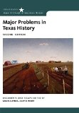 Major Problems in Texas History:   2016 9781133310082 Front Cover