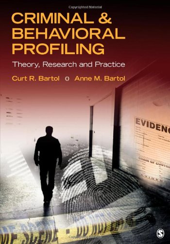 Criminal and Behavioral Profiling   2013 edition cover