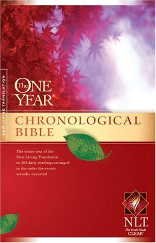 Chronological Bible  2nd 2007 (Unabridged) 9781414314082 Front Cover