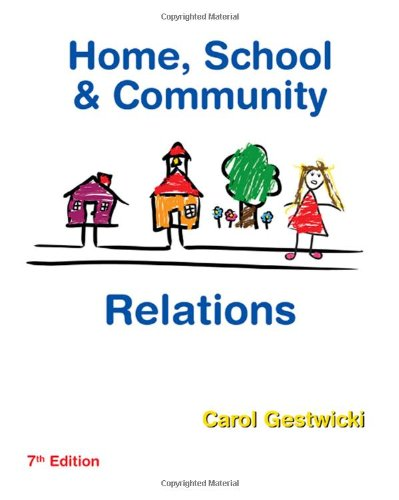 Home, School, and Community Relations  7th 2010 edition cover