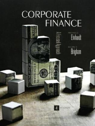 Corporate Finance (with Thomson ONE - Business School Edition)  4th 2011 edition cover