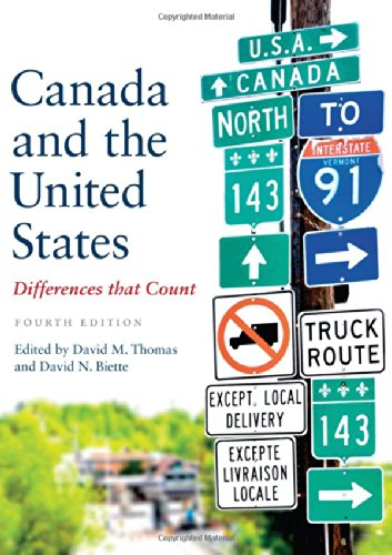 Canada and the United States Differences That Count 4th 2014 (Revised) edition cover