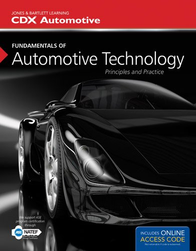 Fundamentals of Automotive Technology   2014 edition cover