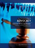 Introduction to Advocacy: Research, Writing and Argument  2013 edition cover