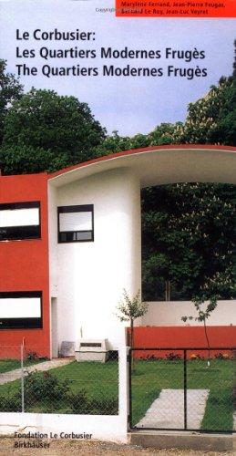 Corbusier The Quartiers Modernes Frug�s(Les Quartiers Modernes Frug�s)  1998 9783764358082 Front Cover