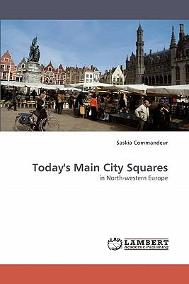 Today's Main City Squares  N/A 9783838356082 Front Cover