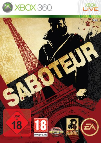 Saboteur Xbox 360 artwork