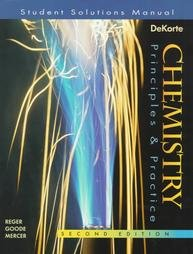 Chemistry Principles and Practice 2nd 1997 (Student Manual, Study Guide, etc.) edition cover