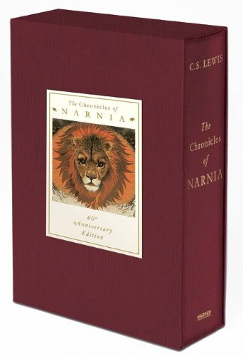 Chronicles of Narnia 60th Anniversary Edition  60th 9780061721083 Front Cover