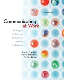 COMMUNICATING AT WORK-CONNECT PLUS      N/A 9780077421083 Front Cover