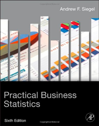 Practical Business Statistics  6th 2012 edition cover