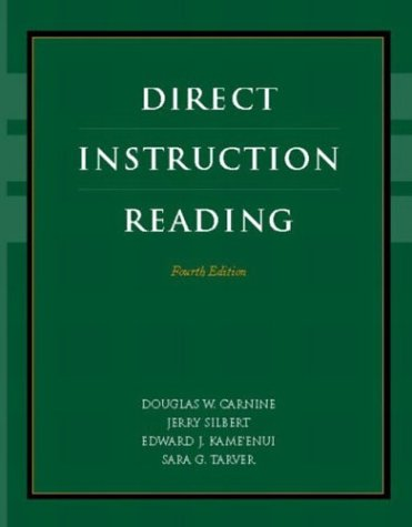 Direct Instruction Reading  4th 2004 (Revised) 9780131123083 Front Cover