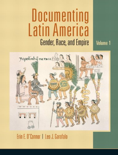 Documenting Latin America Gender, Race, and Empire  2011 edition cover