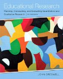 Educational Research Planning, Conducting, and Evaluating Quantitative and Qualitative Research 5th 2015 edition cover