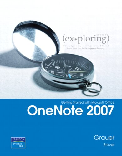 Getting Started with Microsoft Office OneNote 2007   2009 9780135141083 Front Cover