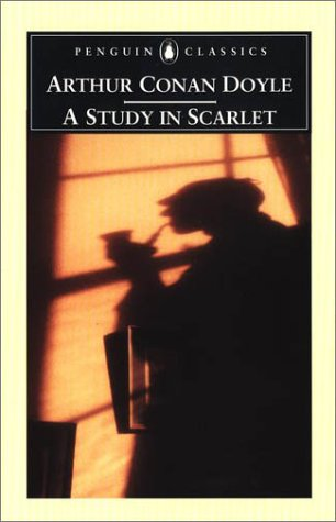 Study in Scarlet   2001 edition cover