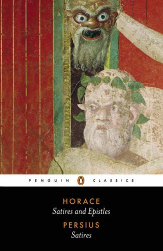 Satires of Horace and Persius   2005 (Revised) edition cover