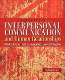 Interpersonal Communication & Human Relationships:   2013 edition cover