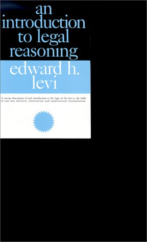 Introduction to Legal Reasoning  74th 1990 (Revised) edition cover