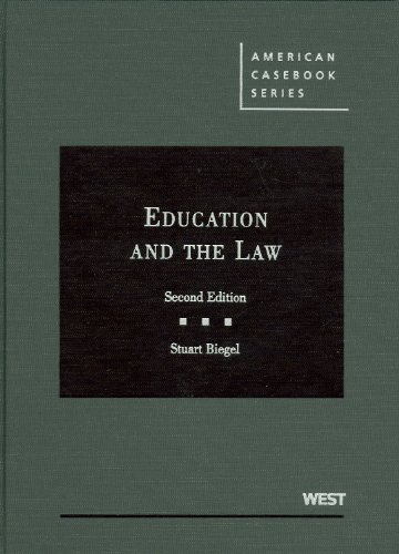 Education and the Law  2nd 2009 (Revised) edition cover