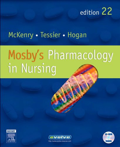 Mosby's Pharmacology in Nursing  22nd 2006 (Revised) edition cover