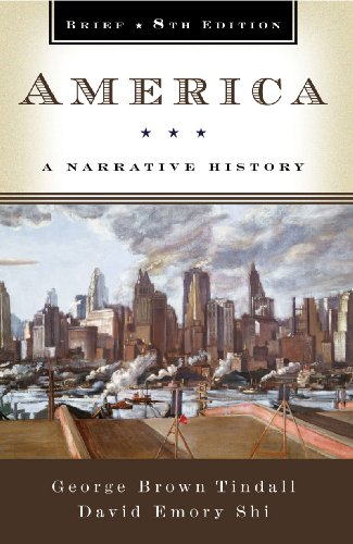 America A Narrative History 8th 2009 (Brief Edition) 9780393934083 Front Cover