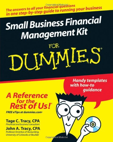 Small Business Financial Management Kit for Dummies   2007 edition cover