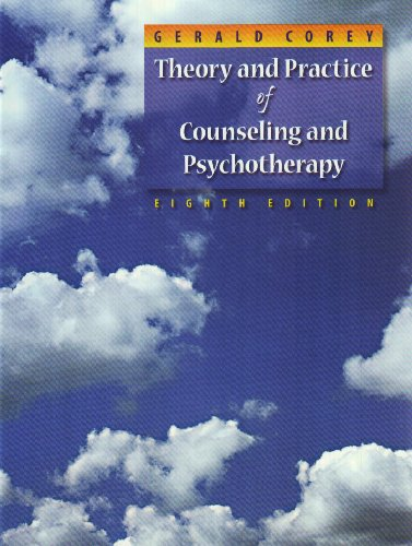 Theory and Practice of Counseling and Psychotherapy  8th 2009 (Revised) edition cover