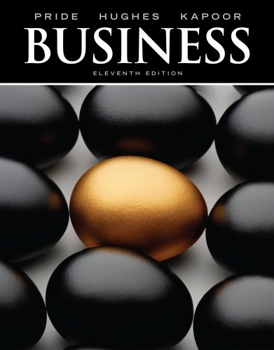 Business  11th 2012 9780538478083 Front Cover
