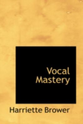 Vocal Mastery  2008 edition cover