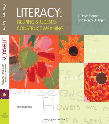 Literacy  7th 2009 edition cover