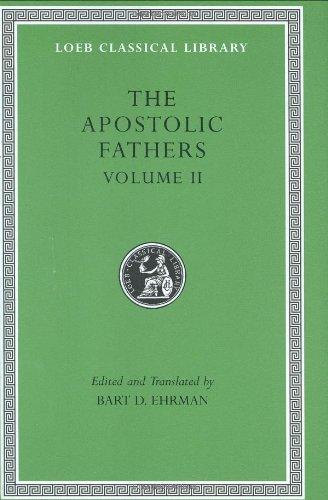 Apostolic Fathers   2003 edition cover
