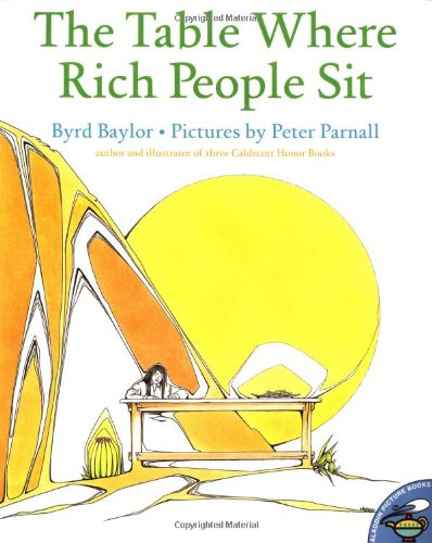 Table Where Rich People Sit   1998 9780689820083 Front Cover