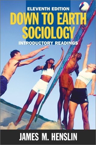 Down to Earth Sociology  11th 2001 edition cover