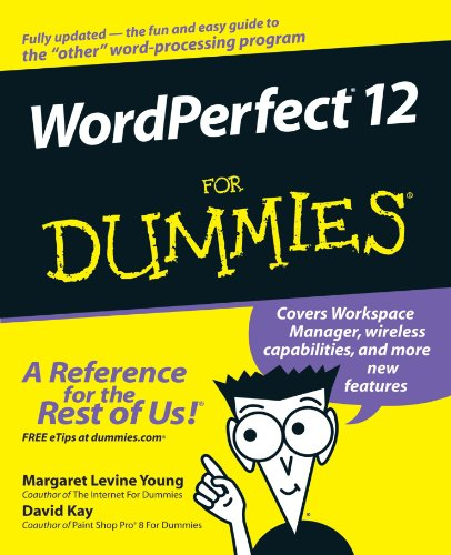 WordPerfect 12 for Dummies   2004 9780764578083 Front Cover