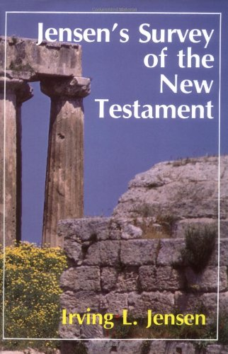 Jensen's Survey of the New Testament   1981 edition cover