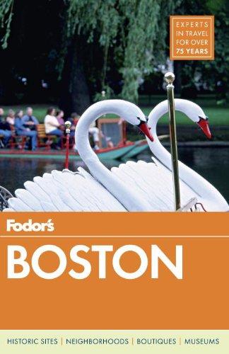 Fodor's Boston  N/A edition cover