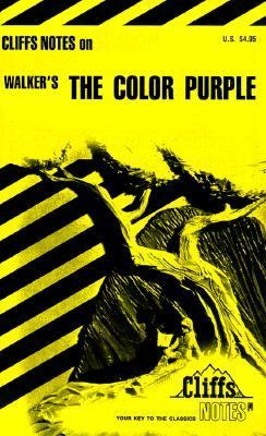 CliffsNotes on Walker's the Color Purple   1986 edition cover