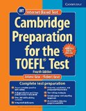 CAMBRIDGE PREPARATION FOR THE TOEFL TEST BOOK WITH ONLINE PRACTICE TESTS 4TH EDITION  4th 2016 edition cover
