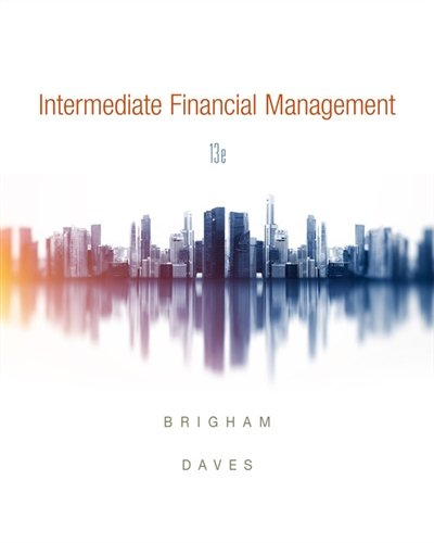 Intermediate Financial Management:   2018 9781337395083 Front Cover