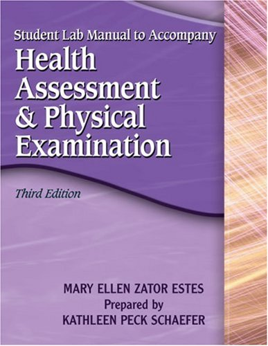 Study Gde-Health Assessment 3e  3rd 2006 9781401872083 Front Cover