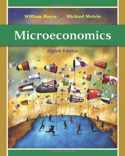 Microeconomics  8th 2011 edition cover
