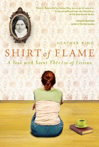 Shirt of Flame A Year with St. Therese of Lisieux  2011 edition cover