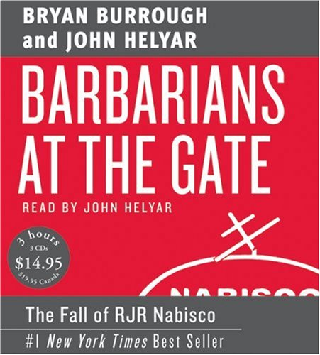 Barbarians at the Gate Low Price CD Abridged 9780061232084 Front Cover