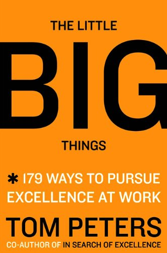 Little Big Things 163 Ways to Pursue Excellence  2010 edition cover