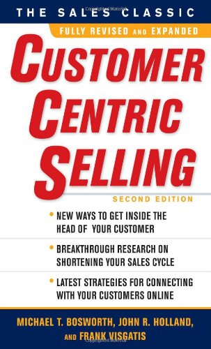 Customer Centric Selling  2nd 2010 edition cover