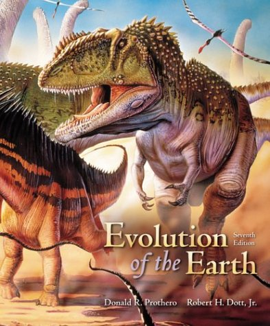 Evolution of the Earth  7th 2004 (Revised) edition cover